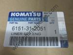 Поршневая группа Komatsu 6151-31-2051 для двигателя S6D125-1
