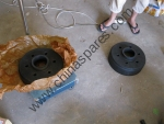 Шестерня коронная для виброкатка Shantui SR20